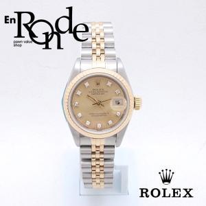 ロレックス ROLEX レディース腕時計 デイトジャスト 69173G SS/YG 10PD シャンパン文字盤 中古 新入荷 おすすめ RO0155|ronde