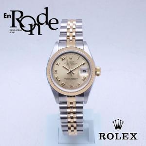 ロレックス ROLEX レディース腕時計 デイトジャスト ローマン 79173 SS/YG シャンパン文字盤 中古 新入荷 おすすめ RO0164|ronde