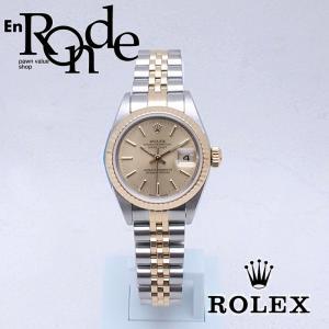 ロレックス ROLEX レディース腕時計 デイトジャスト 79173 SS/YG シャンパン文字盤 中古 新入荷 おすすめ RO0163|ronde