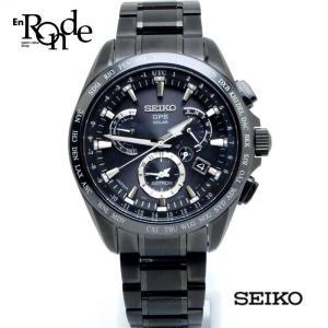 セイコー メンズ時計 アストロン 8X53-OABO-2 チタン/セラミック 黒文字盤 未使用品