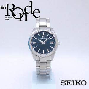セイコー メンズ腕時計 ヘリテージ SBGV225 SS ネイビー文字盤 中古 新入荷 おすすめ OW0225 新着 ronde