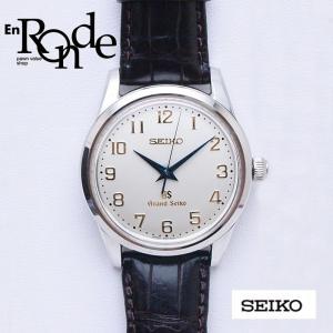セイコー メンズ腕時計 グランドセイコー SBGW003 SS/革 ホワイト文字盤 中古 新入荷 おすすめ|ronde
