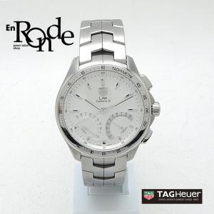 タグホイヤー メンズ腕時計 リンク キャリバーS CAT7011 SS(ステンレス) ホワイト文字盤 中古 新入荷 おすすめ 新着|ronde