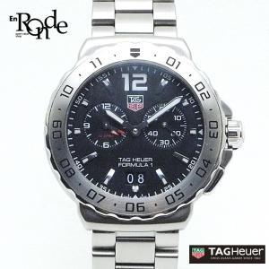 タグホイヤー メンズ時計 フォーミュラーI アラーム WAU111A ステンレス 黒文字盤 中古 おすすめ ronde