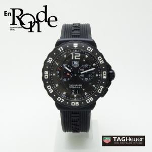 タグホイヤー メンズ腕時計 フォーミュラ1 WAU111D SS(ステンレス)/ラバー 黒文字盤 中古 新入荷 おすすめ|ronde