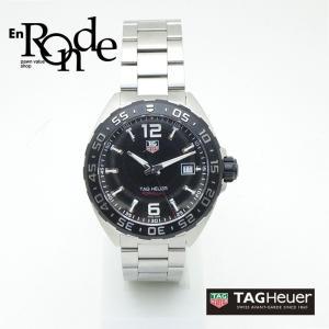 タグホイヤー メンズ腕時計 タグホイヤー フォーミュラ1 WAZ1110 SS ブラック文字盤 中古 新入荷 おすすめ ronde