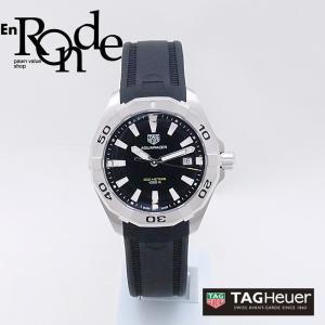 タグホイヤー メンズ腕時計 アクアレーサー WBD1110 SS/ラバー ブラック文字盤 中古 新入荷 おすすめ OW0204 ronde
