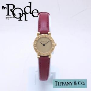 ティファニー Tiffany レディース腕時計 アトラス D286-753 ゴールド文字盤 中古 新入荷 おすすめ TI0060|ronde