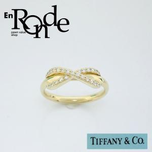ティファニー Tiffany 指輪リング リング インフィニティ K18/ダイヤ ゴールド 中古 新入荷 おすすめ TI0061 新着|ronde