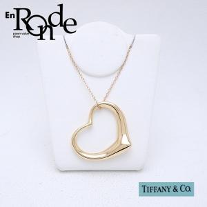 ティファニー Tiffany ネックレスペンダント ネックレス オープンハート K18 ゴールド 中古 新入荷 おすすめ TI0054|ronde