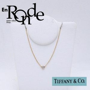 ティファニー Tiffany ネックレスペンダント ネックレス バイザヤード K18/ダイヤ ゴールド色 中古 新入荷 おすすめ TI0055|ronde