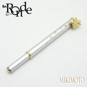 筆記具 ミキモト ボールペン パール シルバー/ゴールド色 中古 新入荷 おすすめ|ronde