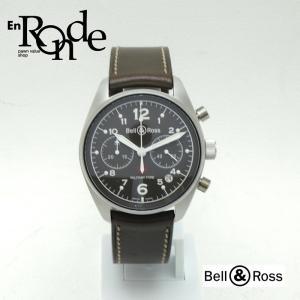 ベル&ロス メンズ腕時計  ミリタリー  SS(ステンレス)/革 ブラック文字盤 中古 新入荷 おすすめ 新着|ronde