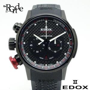 メンズ時計 エドックス エクストリームパイロット ステンレス/ラバー 黒文字盤 中古 ronde