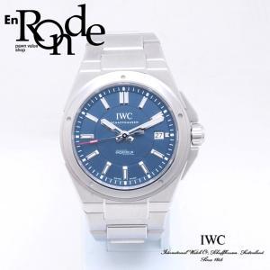 IWC メンズ腕時計 インヂュニア ローレウス SS(ステンレス) ブルー文字盤 中古 新入荷 おすすめ OW0211 ronde