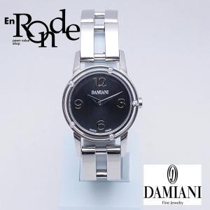 ダミアーニ レディース腕時計 D-SIDE SS/5PD ブラック文字盤 中古 新入荷 おすすめ OW0208 ronde