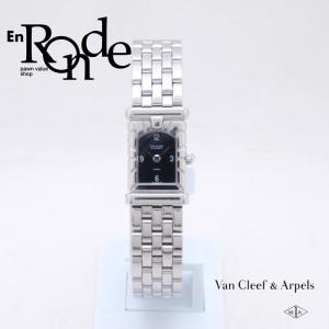 ヴァンクリーフ&アーペル レディース腕時計 ファサード 531963T5 SS ブラック文字盤 中古 新入荷 おすすめ OW0216 新着 ronde