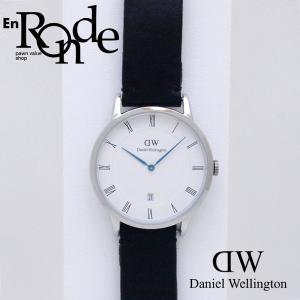 ダニエルウェリントン メンズ腕時計 ダッパー B38S6 SS/革 ホワイト文字盤 中古 新入荷 おすすめ OW0219 新着 ronde