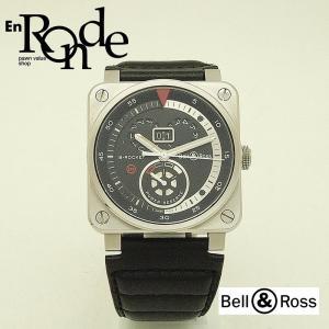 メンズ腕時計 BR03-90-S B-ROCKET BR03-90-S SS(ステンレス)/革 黒文字盤 中古 新入荷 おすすめ|ronde