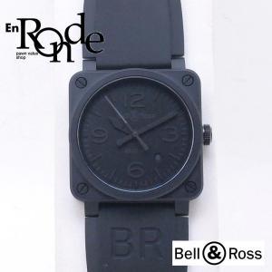 ベル&ロス メンズ腕時計 ファントム BR03-92 セラミック/ラバー ブラック文字盤 中古 新入荷 おすすめ OW0182 ronde