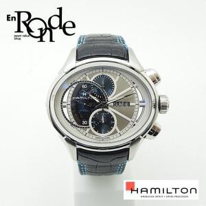 メンズ腕時計 ジャズマスターフェイス2フェイスII H32866781 SS/レザー ダブルフェイス 中古 新入荷 おすすめ ronde