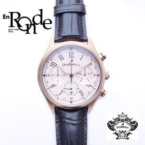 オロビアンコ メンズ腕時計  タキメトロ OR-0021N PGP/革 ブラウン文字盤 中古 新入荷 おすすめ 新着 ronde