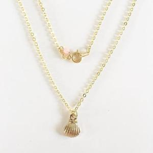 Shell pendant neckrace
