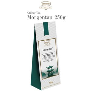 ロンネフェルト紅茶 ロンネフェルト モルゲンタウ 250g  緑茶 グリーンティー 海外 一番人気 バラ ホテル 高級  ドイツ ギフト 贈り物|ronnefeldt-matsue