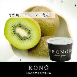 【うるおうアイスクリーム】キウイ 140mlカップ ベストスイーツ受賞の手作りアイス|rono
