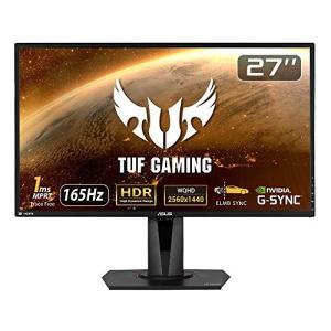 ASUS TUF Gaming ゲーミングモニター VG27AQ 27インチ WQHD HDR IP...