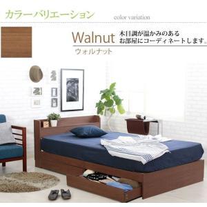 ベッド ダブルベッド ベッドフレーム 収納付き...の詳細画像5