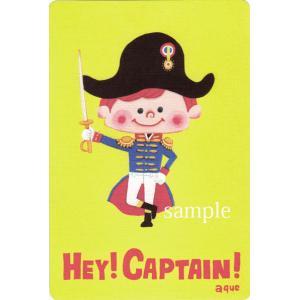 ポストカード「HEY! CAPTAIN!」 海賊 キャプテン 可愛い はがき カード|room505