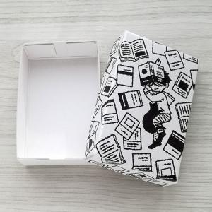 活版BOX ねむり読書 名刺入れ 小物入れ 収納 ギフトボックス プレゼント ラッピング カード収納|room505