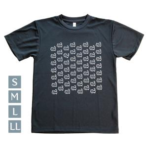 ドライTシャツ 猫いっぱい ブラック S〜LL glimmer グリマー room505