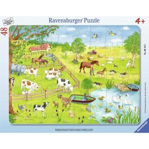 Ravensburger ラベンスバーガー パズル 牧場と池 48ピース 31×24.5cm 06145 7|roomania-l