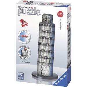 Ravensburger ラベンスバーガー 3Dパズル ピサの斜塔 216ピース 高さ29cm×8.5cm 12557 9|roomania-l