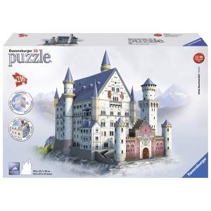 Ravensburger ラベンスバーガー 3Dパズル ノイシュヴァンシュタイン城 216ピース 39×23×38cm 12573 9|roomania-l