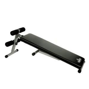 1台で様々なトレーニングが可能なシットアップベンチ。  ◆運動不足解消に、シットアップベンチとフラッ...