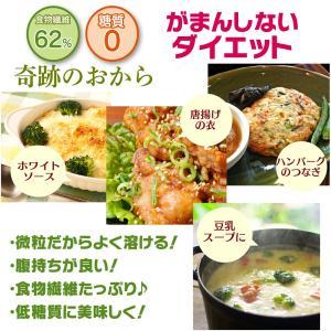 おからパウダー 超微粉 糖質ゼロ 奇跡のおから 500g x2袋 (計 1kg )  日本国内加工 ダイエット 糖質制限 低糖質|roombania|08