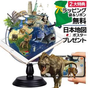 地球儀 しゃべる  地球儀  直径30cm  光る ライト AR 日本語 英語 地勢図/行政 2タイプ インテリア 子供 ランプ 全方位回転 山岳隆起|roombania