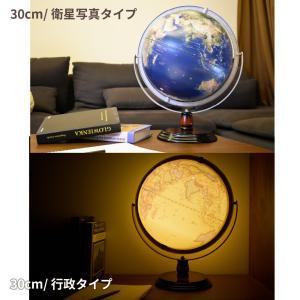 地球儀 しゃべる  地球儀  直径30cm  光る ライト AR 日本語 英語 地勢図/行政 2タイプ インテリア 子供 ランプ 全方位回転 山岳隆起|roombania|03