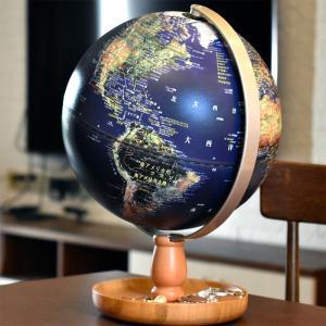 地球儀 しゃべる 地球儀 直径20cm 光る ライト AR アプリ  日本語 英語 地勢図/行政 インテリア アンティーク/リアルアース 子供 ランプ|roombania|17