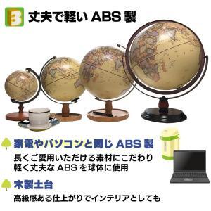 地球儀 しゃべる 地球儀 直径20cm 光る ライト AR アプリ  日本語 英語 地勢図/行政 インテリア アンティーク/リアルアース 子供 ランプ|roombania|09