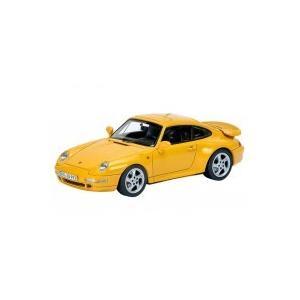 Schuco/シュコー ポルシェ 911 (993) ターボ スピードイエロー 1/43スケール 450887600(同梱・代引き不可)|roomdesign