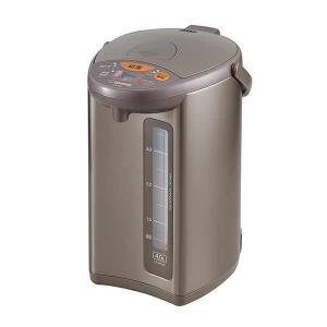 象印 マイコン沸とう 電動ポット メタリックブラウン(TM) 4.0L CD-WU40(同梱・代引き不可)|roomdesign
