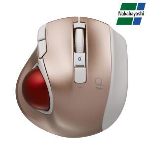 ナカバヤシ Digio2 極小トラックボール「Q」 小型 Bluetooth 静音 5ボタントラックボール ピンク MUS-TBLF134P(同梱・代引き不可)|roomdesign
