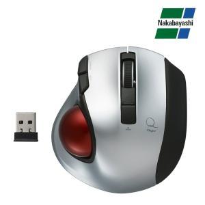 ナカバヤシ Digio2 極小トラックボール「Q」 小型 無線 静音 5ボタントラックボール シルバー MUS-TRLF132SL(同梱・代引き不可)|roomdesign