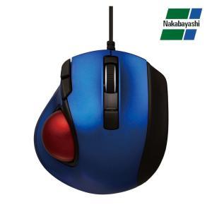 ナカバヤシ Digio2 極小トラックボール「Q」 小型 有線 静音 5ボタントラックボール ブルー MUS-TULF133BL(同梱・代引き不可)|roomdesign
