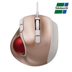 ナカバヤシ Digio2 極小トラックボール「Q」 小型 有線 静音 5ボタントラックボール ピンク MUS-TULF133P(同梱・代引き不可)|roomdesign
