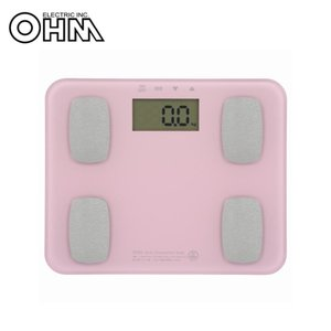 OHM 体重体組成計 ピンク HB-K126-P(同梱・代引き不可) roomdesign